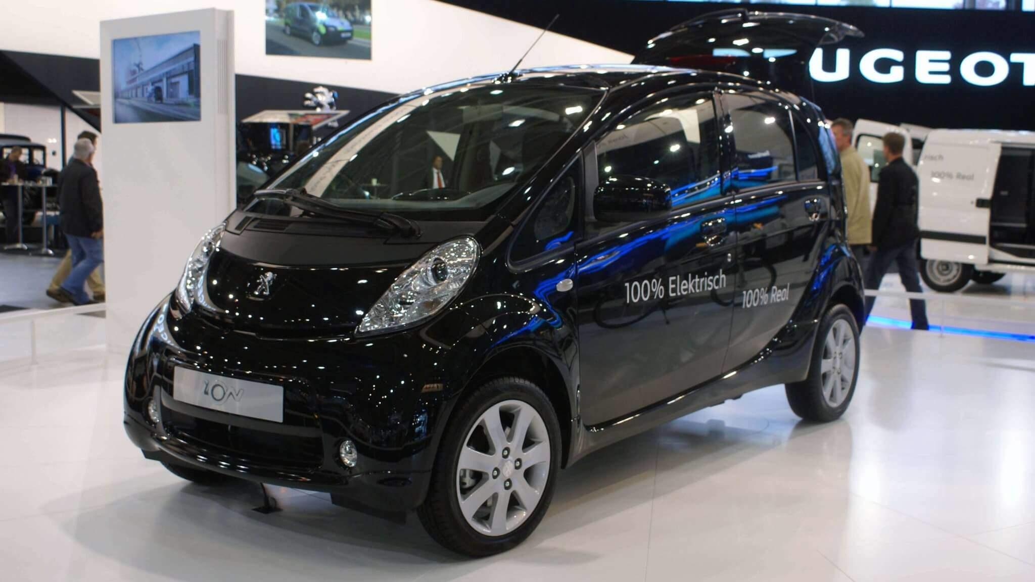 Informatie Over De Elektrische Auto Peugeot Ion
