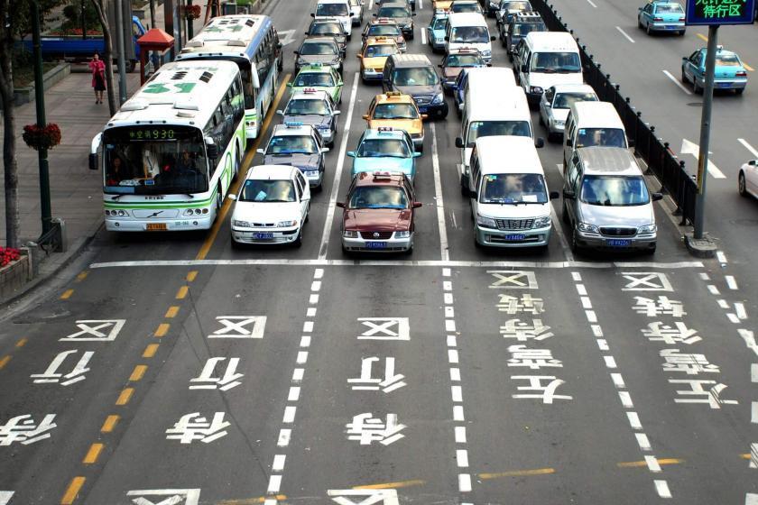 China verkeer