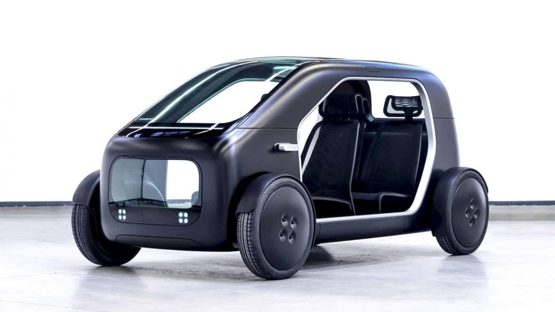 Biomega Presenteert Elektrische Stadsauto Sin Op Ciie In Shanghai