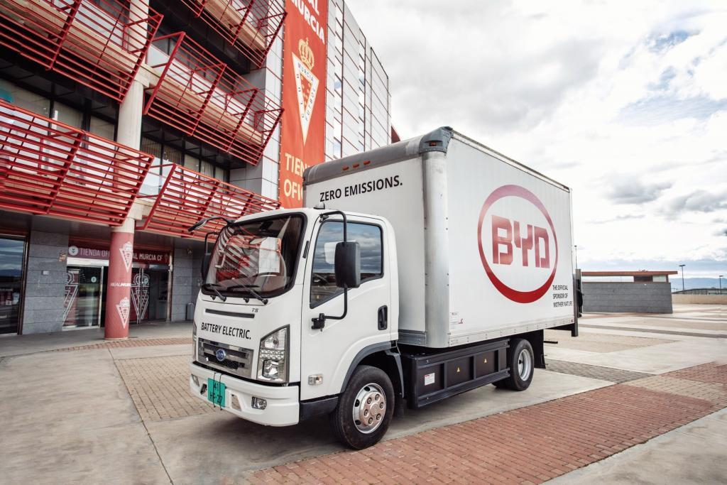 BYD Elektrische Truck