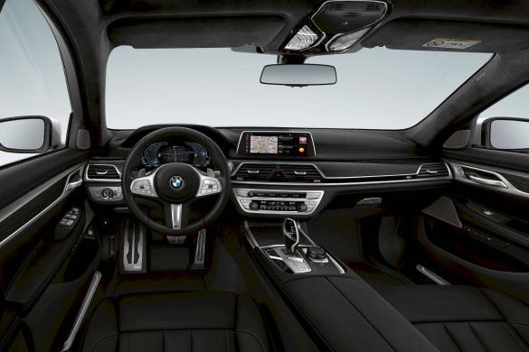 BMW 745e plug-in hybride