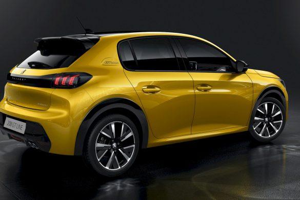 Nieuwe Peugeot 208 ook met elektrische aandrijving