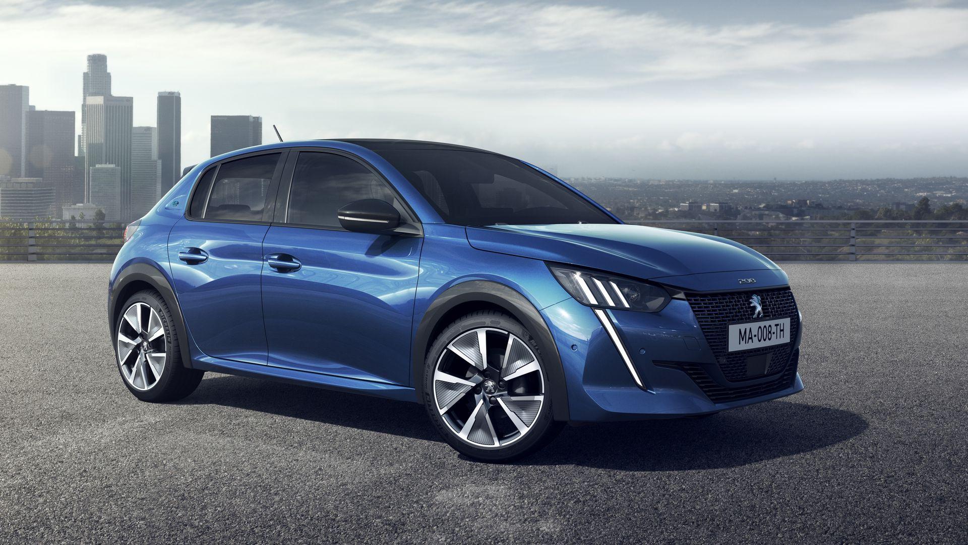 Peugeot 208 Model 2020 Ook Elektrisch Verkrijgbaar
