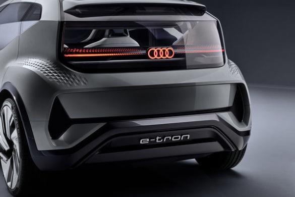 Audi AI:ME achterkant