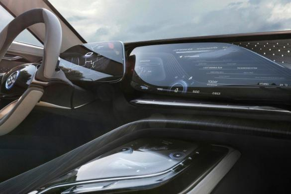 Buick Enspire is equipped with the OLED display screen