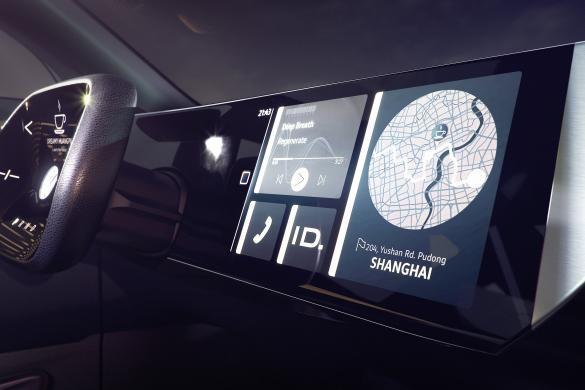 Volkswagen I.D. Roomzz Dashboard