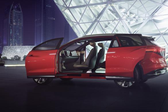 Volkswagen I.D. Roomzz heeft 450 km aan actieradius