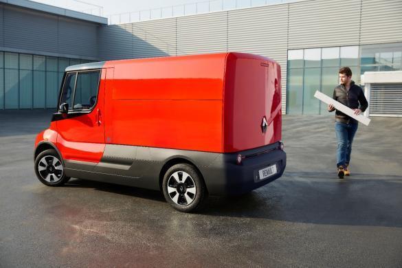 Renault experimenteert met elektrische EZ-FLEX bestelbus