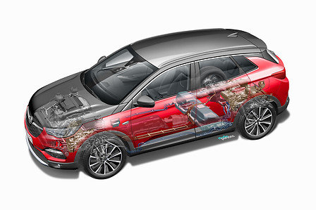 Opel Grandland x Hybrid4 krachtigste Opel leverbaar