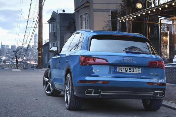 40 kilometer volledig elektrisch met de Audi Q5 plug-in hybride