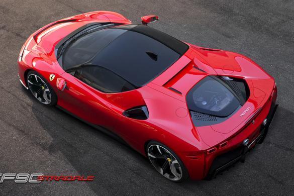 Ferrari SF90 Stradale Bovenkant