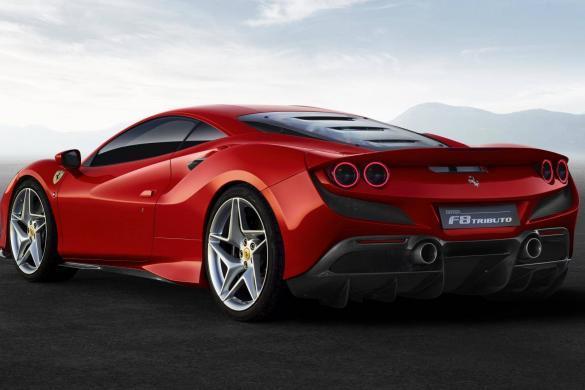 Ferrari Tributo Achterkant