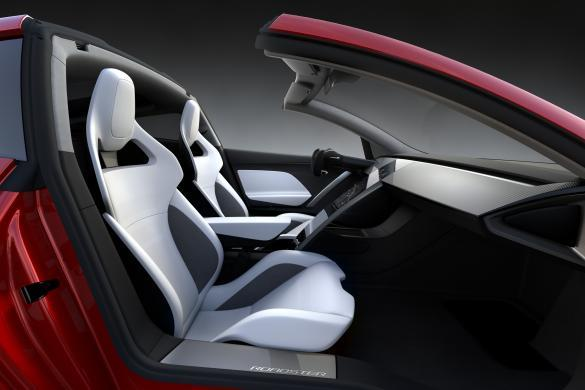 Tesla Roadster Interieur