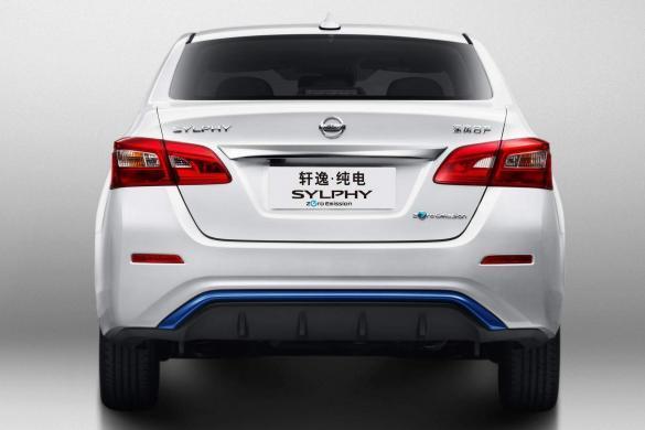 Sylphy Zero Emission Achterkant