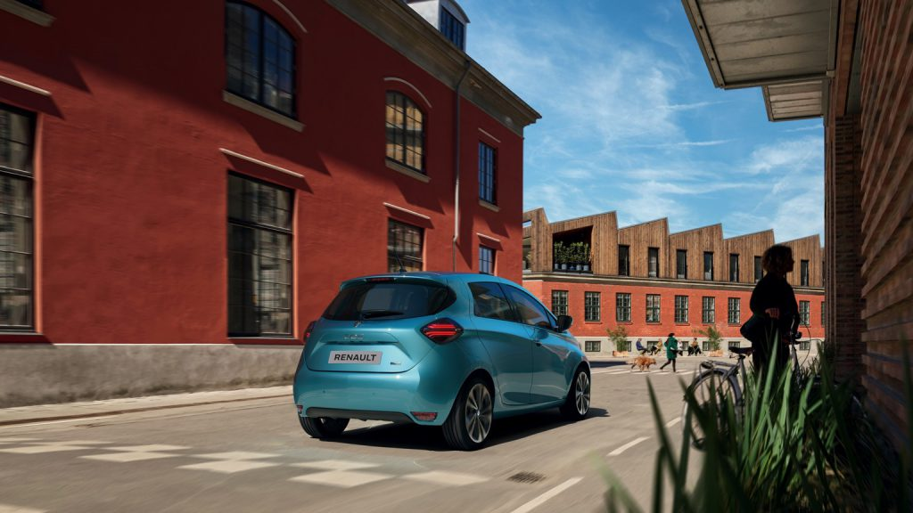 Renault Zoe ZE50 R110