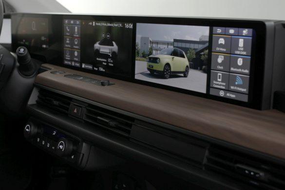 Honda E digitaal dashboard