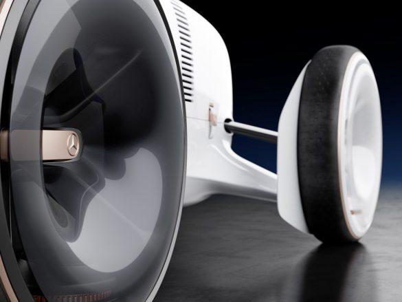 Vision Mercedes Simplex-detail