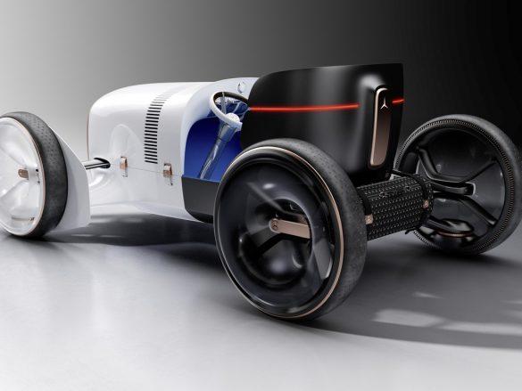 Vision Mercedes Simplex- achterkant