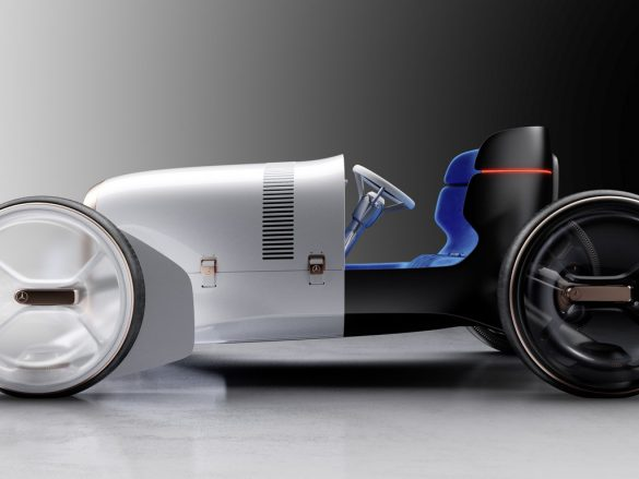 Vision Mercedes Simplex-zijkant