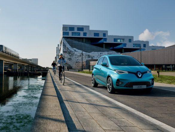 Renault Zoe - rijdend