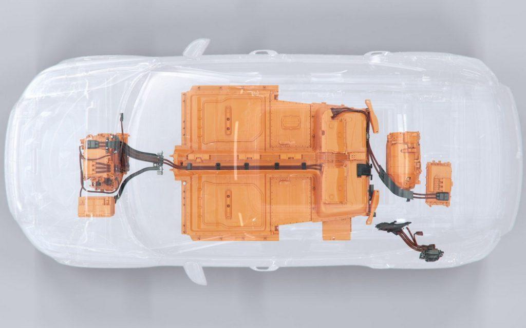 elektrische XC40 - bovenzijde