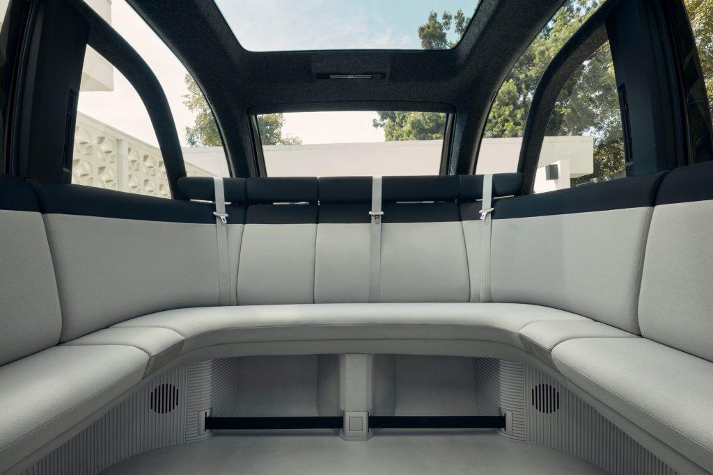 Canoo - interieur