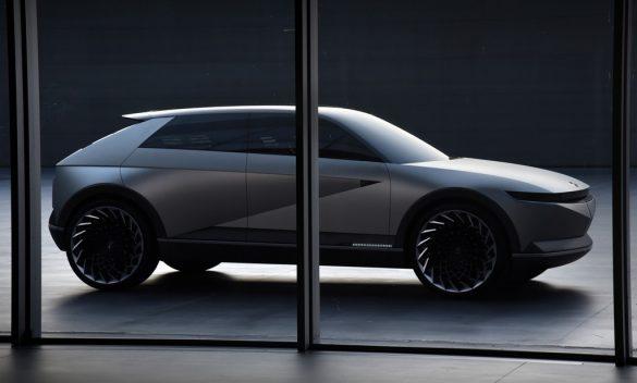 Hyundai 『45』concept - zijkant
