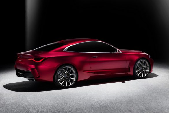 BMW Concept 4 - zijkant