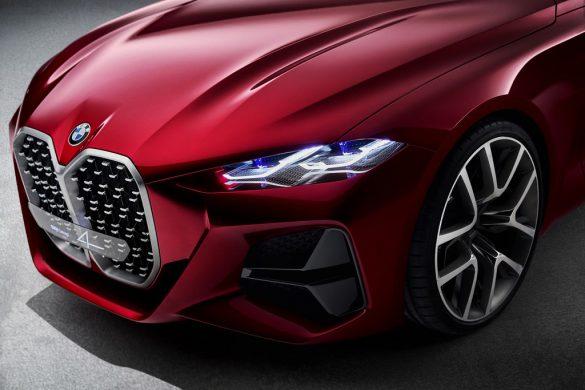 BMW Concept 4 - voorkant