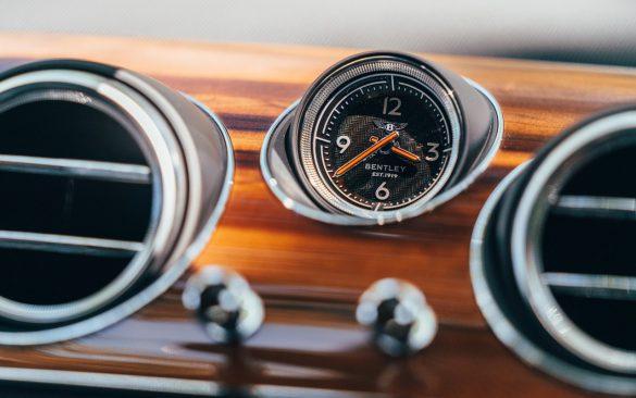 Bentley Bentayga Hybrid - klokje