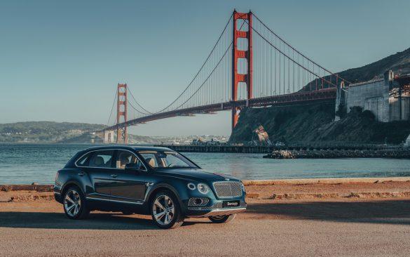 Bentley Bentayga Hybrid - zijkant