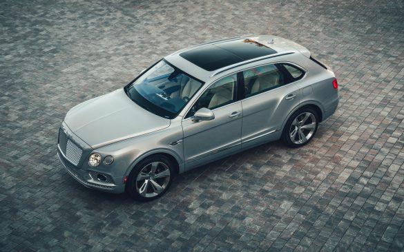 Bentley Bentayga Hybrid - bovenaanzicht