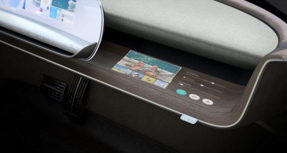 Hyundai 『45』concept - dashboard