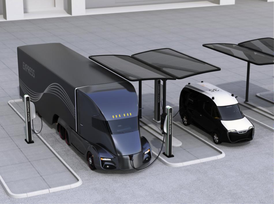 Elektrische vrachtwagen toekomst