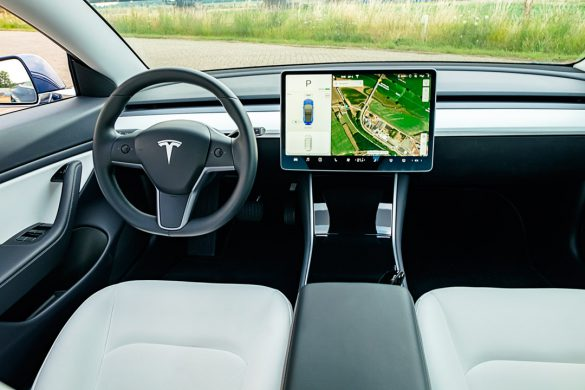 Tesla Model 3 Dual Motor Interieur