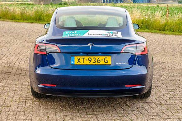 Tesla Model 3 Long Range Dual Motor achterkant