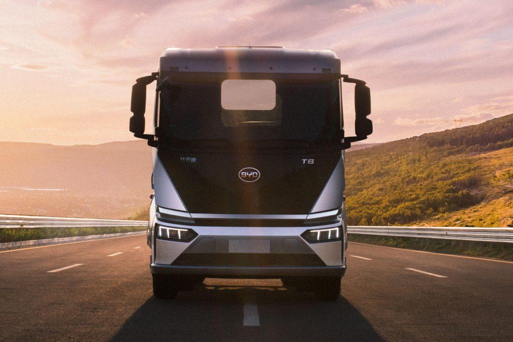 BYD elektrische vrachtauto naar Europa