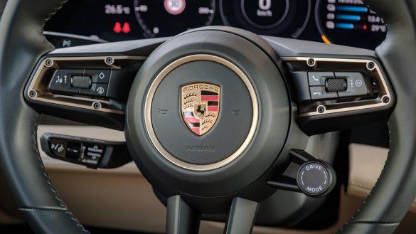 Porsche Taycan Turbo stuur