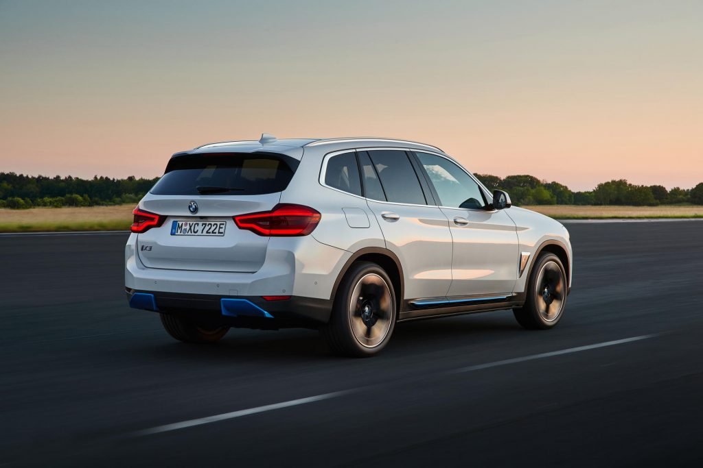 BMW iX3 elektrische SUV
