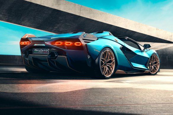 Lamborghini Sián hybride Roadster