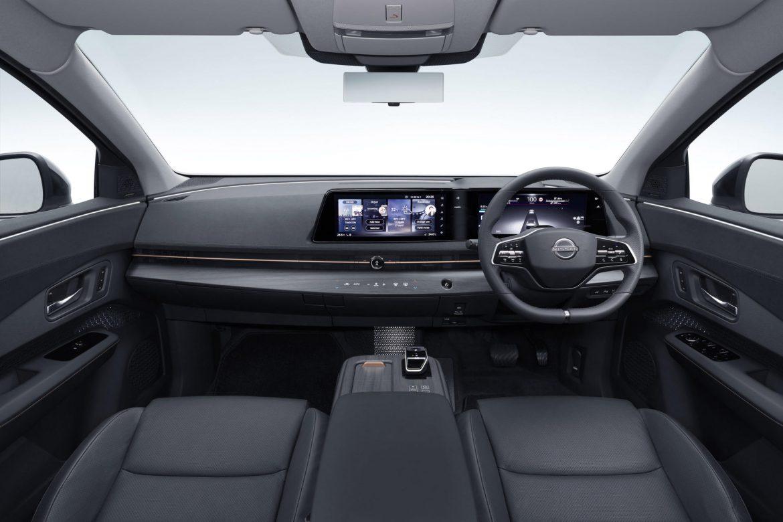 Interieur elektrische Nissan Ariya