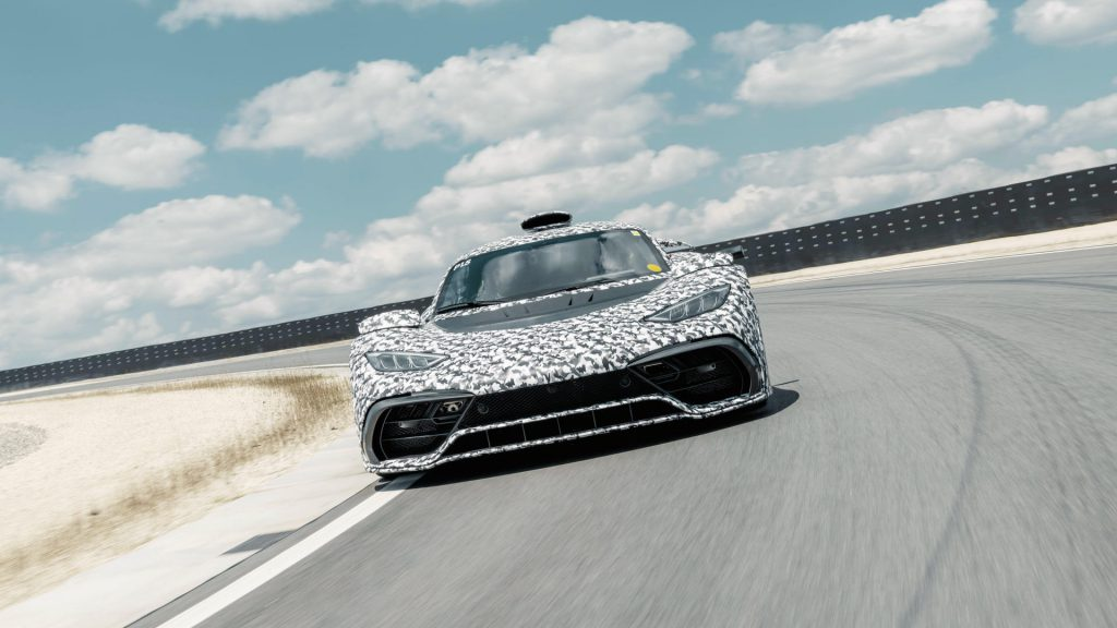 Mercedes-AMG Project ONE testrit