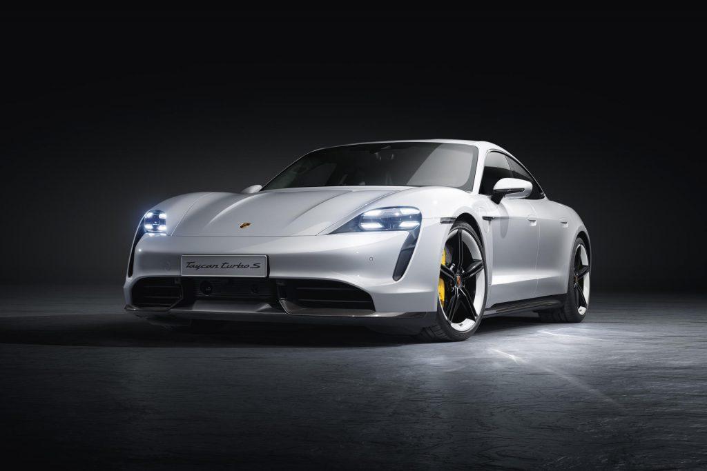 Porsche Taycan Turbo S model 2021