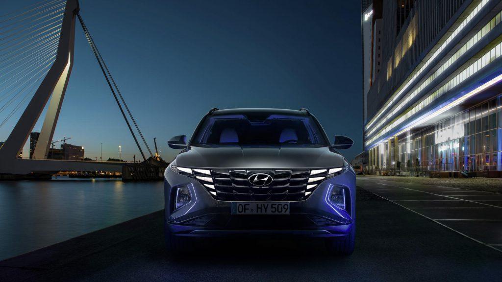 Nieuwe grille Hyundai Tucson hybride
