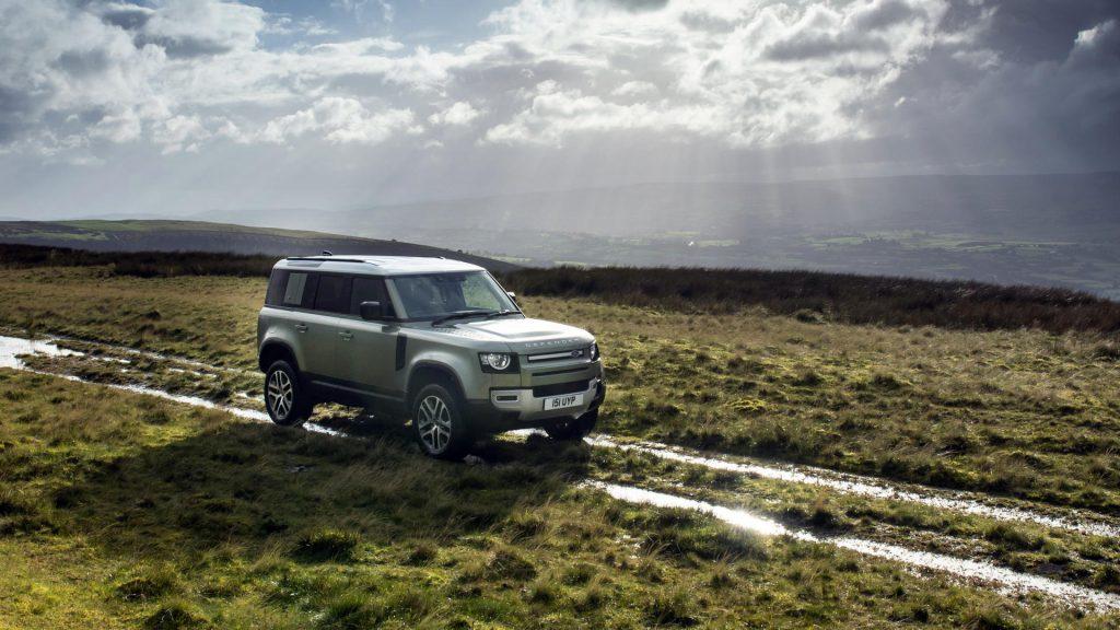 Land Rover Defender P400e plug-in hybrid
