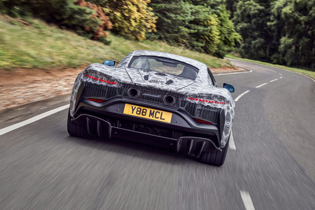 igh-Performance Hybrid (HPH) supersportauto van McLaren