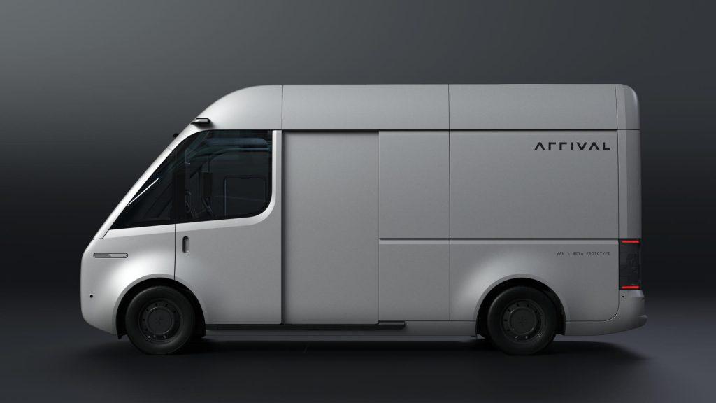 Arrival Van elektrische bestelwagen