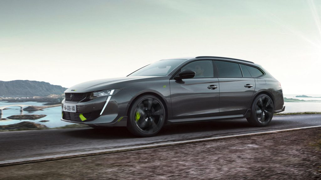 Peugeot 508 PSE (Peugeot Sport Engineered) Plug-in Hybrid