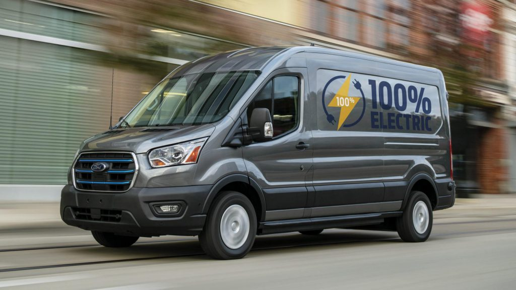 Elektrische Ford E-Transit