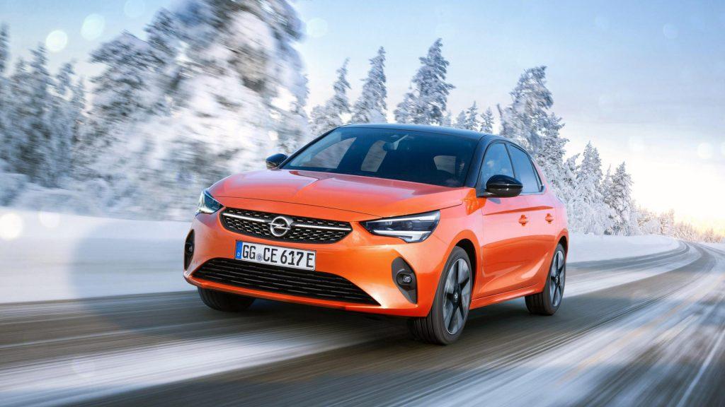 Opel Corsa-e  elektrische auto winnaar Das Goldene Lenkrad